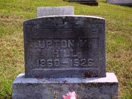 HILL, UPTON M. - Meigs County, Ohio | UPTON M. HILL - Ohio Gravestone Photos