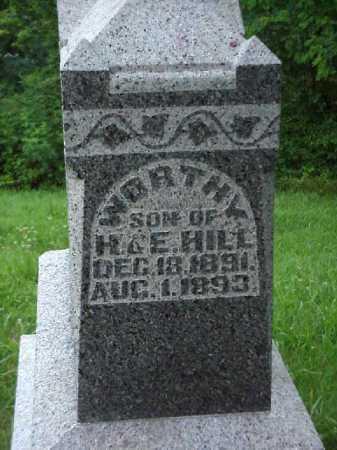 HILL, WORTHY - Meigs County, Ohio   WORTHY HILL - Ohio Gravestone Photos