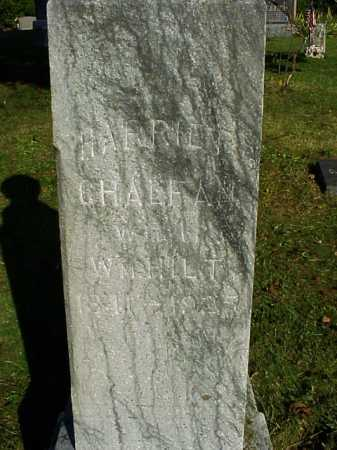 CHALFAN HILT, HARRIET - Meigs County, Ohio | HARRIET CHALFAN HILT - Ohio Gravestone Photos