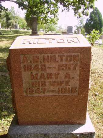 HILTON, MARY A. - Meigs County, Ohio | MARY A. HILTON - Ohio Gravestone Photos