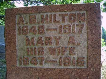 HILTON, ANDREW B. - CLOSEVIEW - Meigs County, Ohio | ANDREW B. - CLOSEVIEW HILTON - Ohio Gravestone Photos