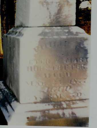 HOBSTETTER, PHILLIP C. - Meigs County, Ohio | PHILLIP C. HOBSTETTER - Ohio Gravestone Photos