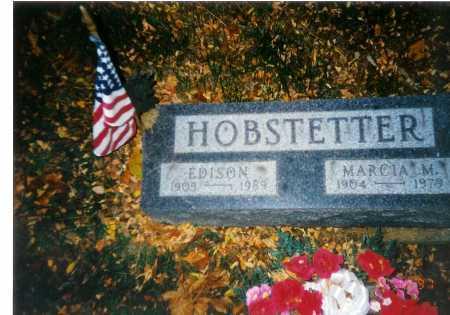 HOBSTETTER, EDISON - Meigs County, Ohio | EDISON HOBSTETTER - Ohio Gravestone Photos