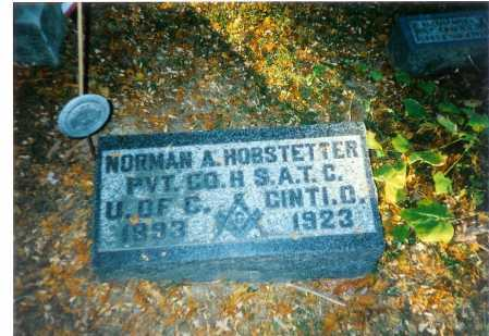 HOBSTETTER, NORMAN A. - Meigs County, Ohio | NORMAN A. HOBSTETTER - Ohio Gravestone Photos