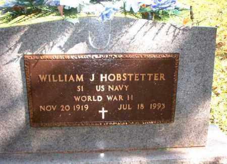 HOBSTETTER, WILLIAM J. - Meigs County, Ohio   WILLIAM J. HOBSTETTER - Ohio Gravestone Photos