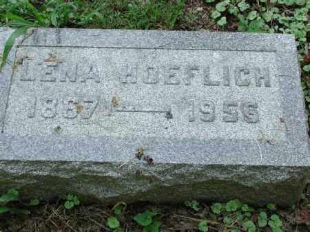 HOEFLICH, LENA - Meigs County, Ohio | LENA HOEFLICH - Ohio Gravestone Photos