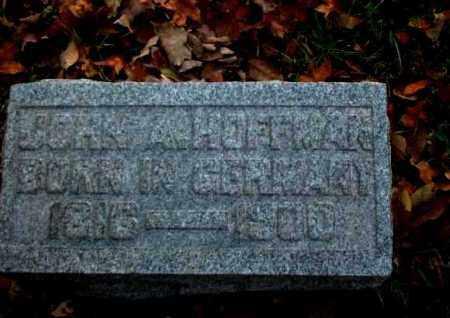 HOFFMAN, JOHN A. - Meigs County, Ohio | JOHN A. HOFFMAN - Ohio Gravestone Photos