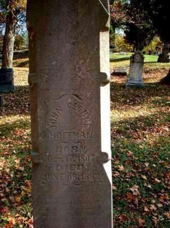 HOFFMAN, JOHN GEORGE - Meigs County, Ohio   JOHN GEORGE HOFFMAN - Ohio Gravestone Photos