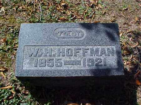 HOFFMAN, W. H. - Meigs County, Ohio | W. H. HOFFMAN - Ohio Gravestone Photos