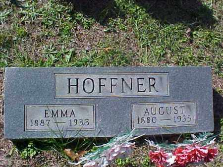 HOFFNER, AUGUST - Meigs County, Ohio   AUGUST HOFFNER - Ohio Gravestone Photos