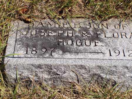 HOGUE, JAMIE B. - Meigs County, Ohio   JAMIE B. HOGUE - Ohio Gravestone Photos