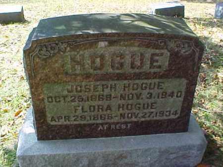 HOGUE, FLORA - Meigs County, Ohio | FLORA HOGUE - Ohio Gravestone Photos