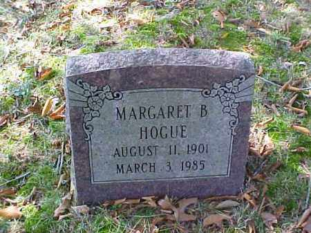 HOGUE, MARGARET B. - Meigs County, Ohio | MARGARET B. HOGUE - Ohio Gravestone Photos