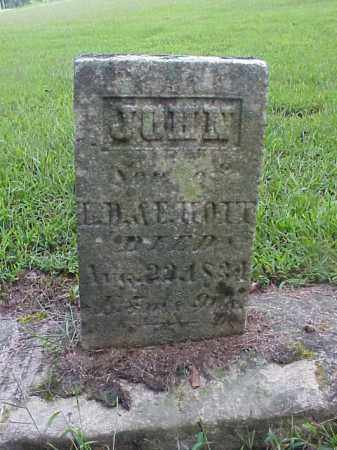 HOIT, JOHN - Meigs County, Ohio | JOHN HOIT - Ohio Gravestone Photos