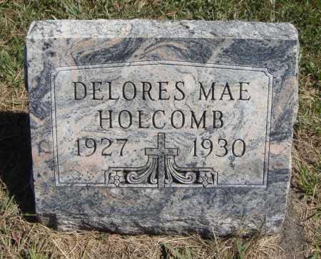 HOLCOMB, DELORES MAE - Meigs County, Ohio   DELORES MAE HOLCOMB - Ohio Gravestone Photos