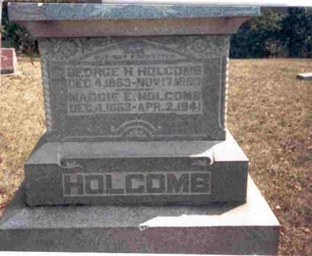 HOLCOMB, MAGGIE E. - Meigs County, Ohio   MAGGIE E. HOLCOMB - Ohio Gravestone Photos