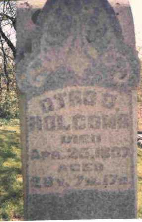 HOLCOMB, OTHO C. - Meigs County, Ohio | OTHO C. HOLCOMB - Ohio Gravestone Photos