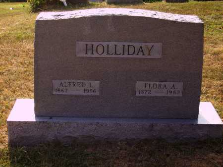 HOLLIDAY, FLORA A. - Meigs County, Ohio | FLORA A. HOLLIDAY - Ohio Gravestone Photos