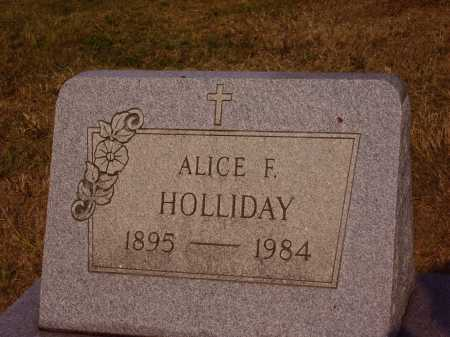 HOLLIDAY, ALICE F. - Meigs County, Ohio | ALICE F. HOLLIDAY - Ohio Gravestone Photos