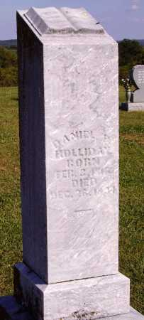 HOLLIDAY, DANIEL - OVERALL VIEW - Meigs County, Ohio   DANIEL - OVERALL VIEW HOLLIDAY - Ohio Gravestone Photos