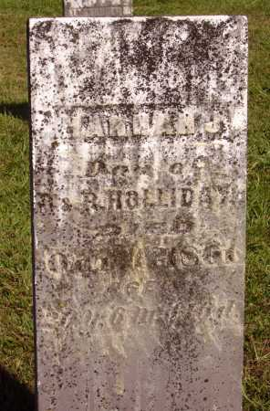 HOLLIDAY, HANNAH J. - Meigs County, Ohio | HANNAH J. HOLLIDAY - Ohio Gravestone Photos