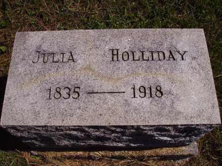 HOLLIDAY, JULIA - Meigs County, Ohio | JULIA HOLLIDAY - Ohio Gravestone Photos