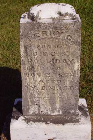 HOLLIDAY, PERRY G - Meigs County, Ohio | PERRY G HOLLIDAY - Ohio Gravestone Photos