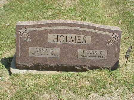 TURLEY HOLMES, ANNA C. - Meigs County, Ohio | ANNA C. TURLEY HOLMES - Ohio Gravestone Photos