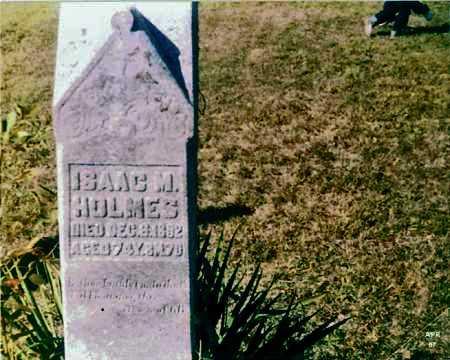 HOLMES, ISAAC M. - Meigs County, Ohio   ISAAC M. HOLMES - Ohio Gravestone Photos