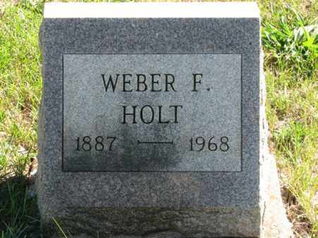 HOLT, WEBER F. - Meigs County, Ohio   WEBER F. HOLT - Ohio Gravestone Photos
