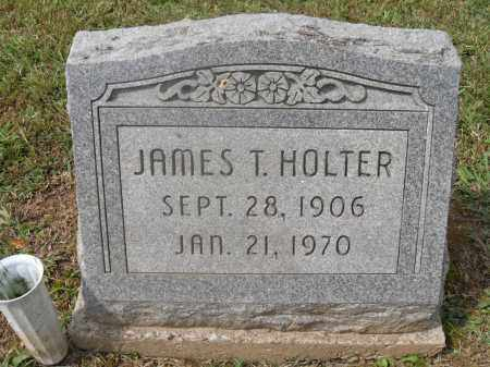 HOLTER, JAMES T. - Meigs County, Ohio | JAMES T. HOLTER - Ohio Gravestone Photos
