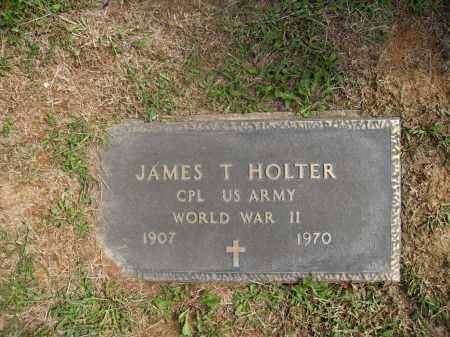 HOLTER, JAMES T. - Meigs County, Ohio | JAMES T. HOLTER - Ohio Gravestone Photos