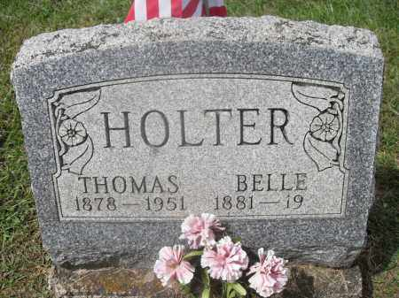 HOLTER, BELLE - Meigs County, Ohio | BELLE HOLTER - Ohio Gravestone Photos