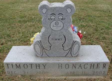 HONACHER, TIMOTHY - Meigs County, Ohio | TIMOTHY HONACHER - Ohio Gravestone Photos