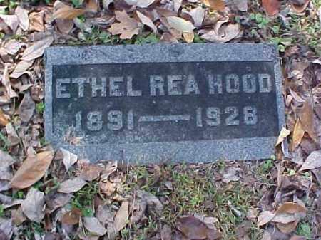 REA HOOD, ETHEL - Meigs County, Ohio | ETHEL REA HOOD - Ohio Gravestone Photos