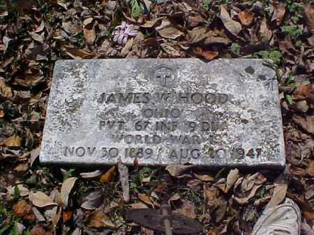 HOOD, JAMES W. - Meigs County, Ohio | JAMES W. HOOD - Ohio Gravestone Photos