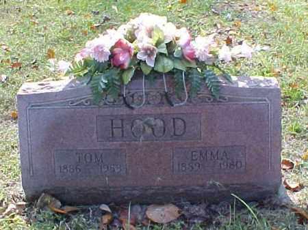 HOOD, EMMA - Meigs County, Ohio | EMMA HOOD - Ohio Gravestone Photos