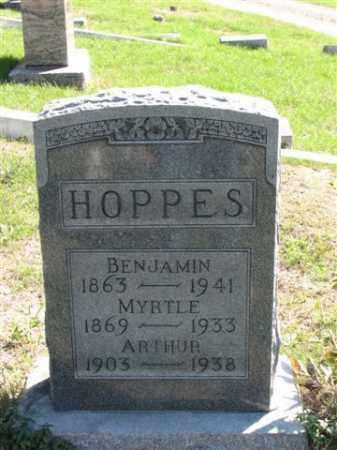 HOPPES, BENJAMIN - Meigs County, Ohio | BENJAMIN HOPPES - Ohio Gravestone Photos