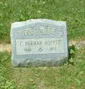 HOPPES, C. HERMAN - Meigs County, Ohio | C. HERMAN HOPPES - Ohio Gravestone Photos