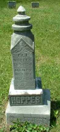 HOPPES, ELI - Meigs County, Ohio   ELI HOPPES - Ohio Gravestone Photos