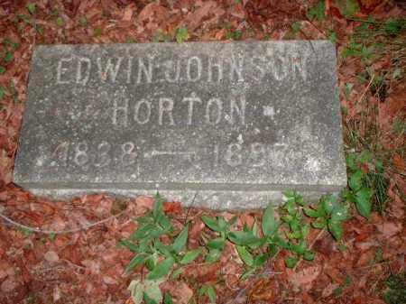 HORTON, EDWIN JOHNSON - Meigs County, Ohio | EDWIN JOHNSON HORTON - Ohio Gravestone Photos
