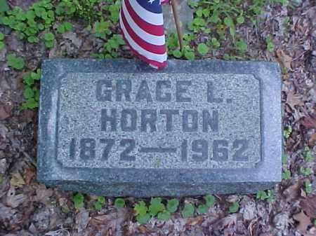 HORTON, GRACE L. - Meigs County, Ohio | GRACE L. HORTON - Ohio Gravestone Photos