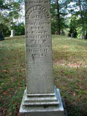 HORTON, HANNAH - Meigs County, Ohio   HANNAH HORTON - Ohio Gravestone Photos