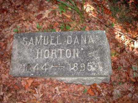 HORTON, SAMUEL DANA - Meigs County, Ohio   SAMUEL DANA HORTON - Ohio Gravestone Photos