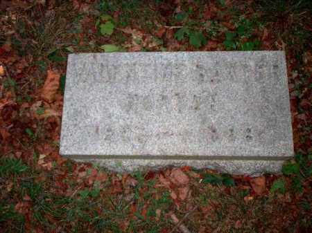 HORTON, VALENTINE BAXTER - Meigs County, Ohio   VALENTINE BAXTER HORTON - Ohio Gravestone Photos