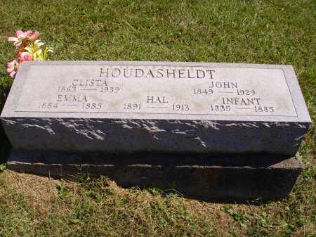 HOUDASHELDT, CLISTA - Meigs County, Ohio | CLISTA HOUDASHELDT - Ohio Gravestone Photos