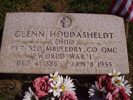 HOUDASHELDT, GLENN - Meigs County, Ohio | GLENN HOUDASHELDT - Ohio Gravestone Photos