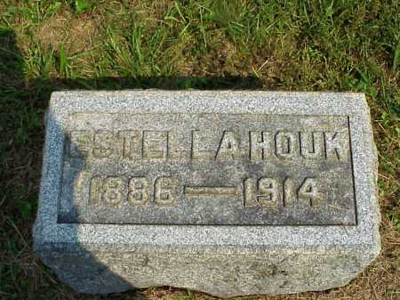 HOUK, ESTELLA - Meigs County, Ohio   ESTELLA HOUK - Ohio Gravestone Photos
