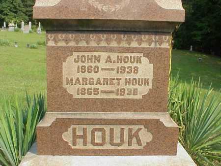 HOUK, MARGARET - Meigs County, Ohio   MARGARET HOUK - Ohio Gravestone Photos