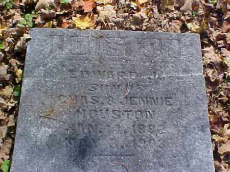 HOUSTON, EDWARD J. - Meigs County, Ohio   EDWARD J. HOUSTON - Ohio Gravestone Photos